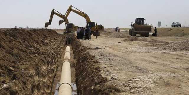 عملیات اجرایی آبرسانی به روستای رضوان فین بندرعباس آغاز شد