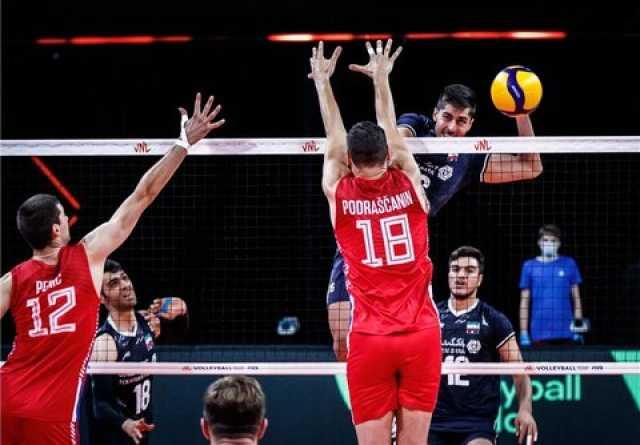 لیگ ملتهای والیبال  شکست ایران مقابل صربستان در ماراتنی نفسگیر