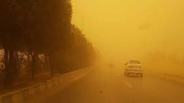 پیش بینی وقوع طوفان در جاده های جنوب کرمان
