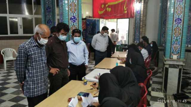 حضور پرشور مردم دارالولایه در انتخابات