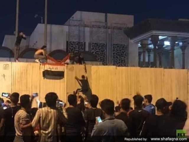 ناآرامیهای عراق، اظهارات تریبونداران در تهران و حمله به کنسولگری ایران در کربلا| ماجرا چیست؟+فیلم
