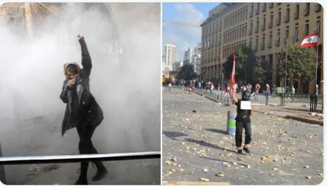 عکس  توییت جنجالی سمعان، مدل لبنانی علیه ایران