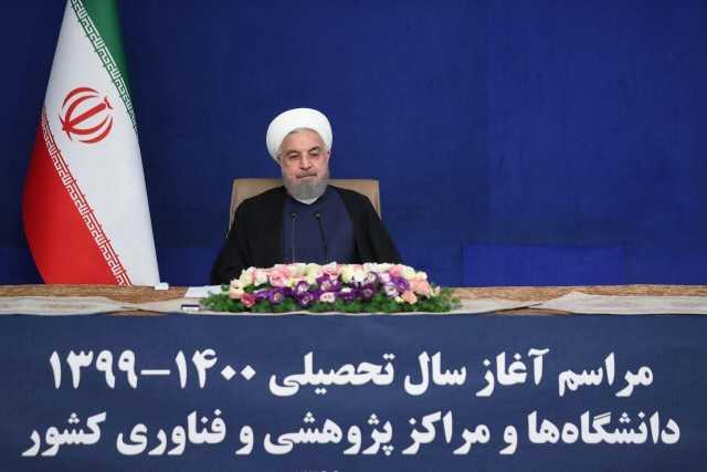 روحانی: باید شرایط تعامل با دنیا را فراهم کنیم  امروز روز تابآوری مضاعف برای ملت ایران است