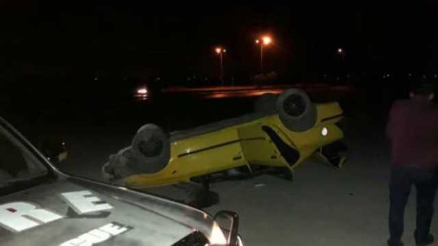 واژگونی تاکسی ۳ کشته و زخمی برجای گذاشت