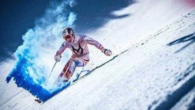 فیلم| فرود با اسکی در خطرناک ترین شرایط