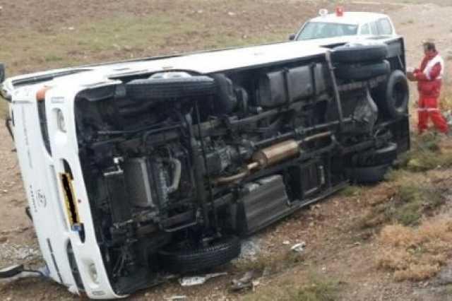 ۲ حادثه مینی بوس در مازندران ۴۷ مصدوم داشت