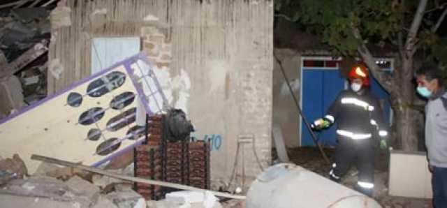 انفجار هولناک در شیراز/ جوان 23 ساله زیر آوار گرفتار شد
