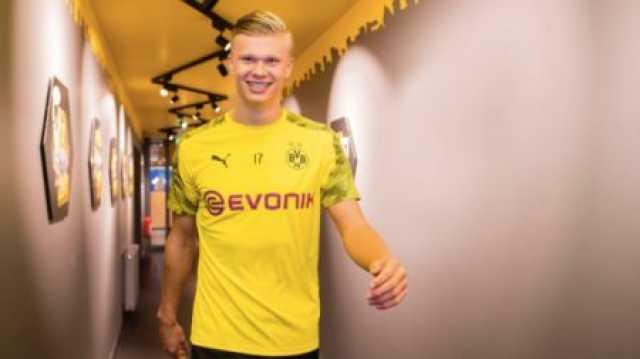هالند پسر طلایی فوتبال اروپا شد