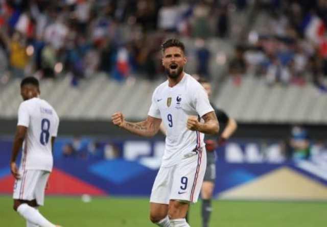 پیروزی فرانسه مقابل بلغارستان با گلهای ژیرو/ تساوی لهستان و ایسلند