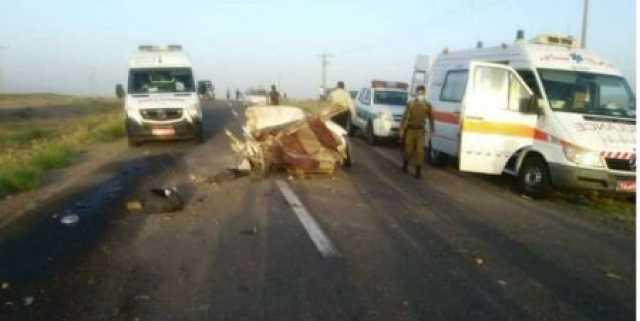 تصادف مرگبار کامیون با پراید در نیشابور ۶ کشته و زخمی برجای گذاشت