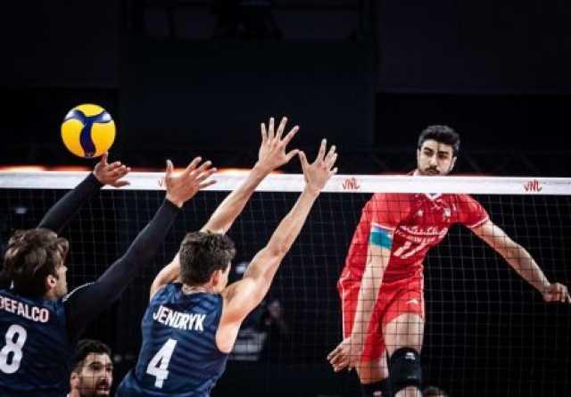 پیروزی مقتدرانه والیبال ایران برابر آمریکا/ یانکیها برابر شاگردان آلکنو تسلیم شدند