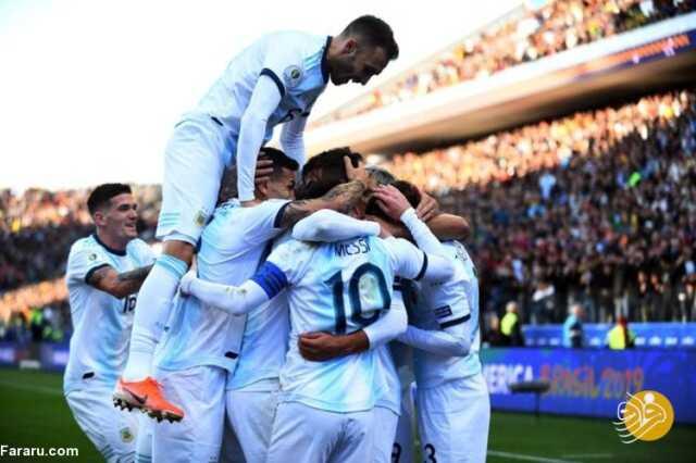 (ویدیو) خلاصه بازی آرژانتین ۱ – ۰ پاراگوئه؛ صدرنشینی تیم مسی