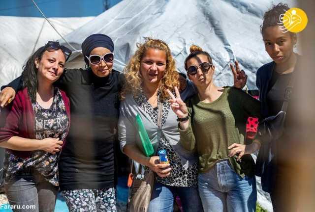 (ویدئو) کشف حجاب زنان فرانسوی عضو داعش!