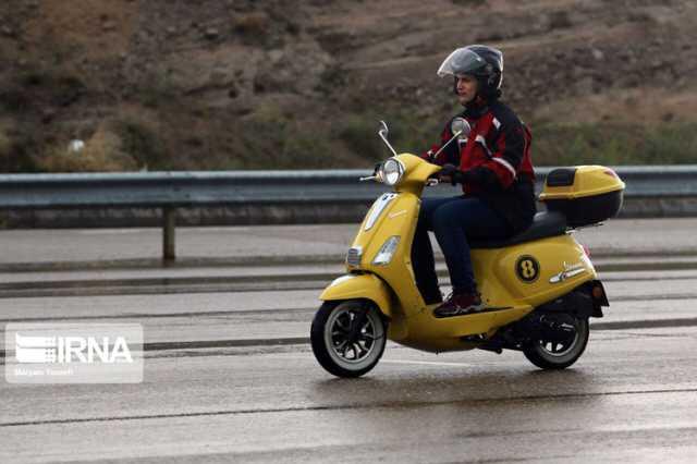 (تصاویر) موتورسواری زنان به مناسبت روز قدس