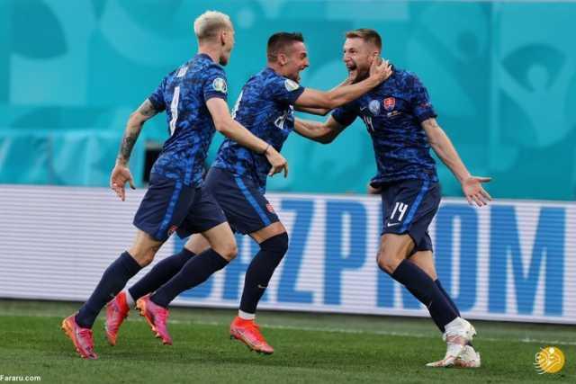 (ویدیو) خلاصه بازی لهستان 1 - 2 اسلواکی 24 خرداد 00