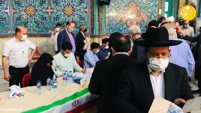 تصاویر رسانه خارجی از انتخابات ایران