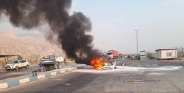 تصادف مرگبار در عسلویه/ ۶ نفر زنده زنده در آتش سوختند