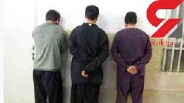دزدان عجیب و غریب همدان بازداشت شدند +عکس