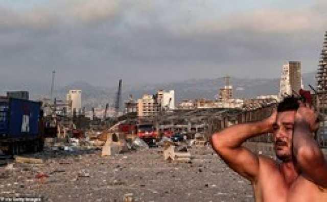 لحظه تلخ نجات یک دختر بیروتی از زیر آوار+ فیلم