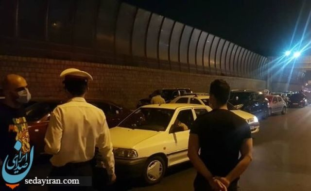 هجوم مسافران آزادراه تهران - شمال را بست!