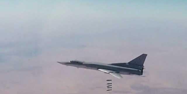 حدود ۲۰۰ تروریست در حمله هوایی روسیه در سوریه کشته شدند