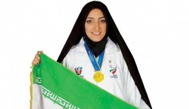 بانوی پرچمدار کاروان ایران در پارالمپیک ۲۰۱۶ مدال طلایش را به رئیسی اهدا کرد