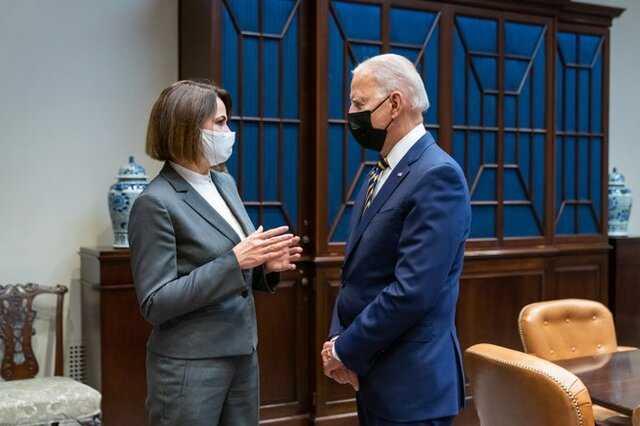 رهبر اپوزیسیون بلاروس با جو بایدن دیدار کرد