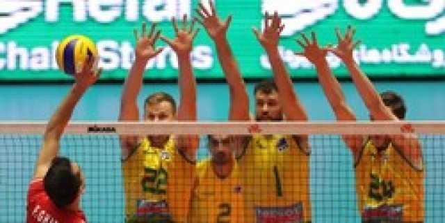 پیروزی دوباره والیبال ایران مقابل استرالیا در دیداری تدارکاتی