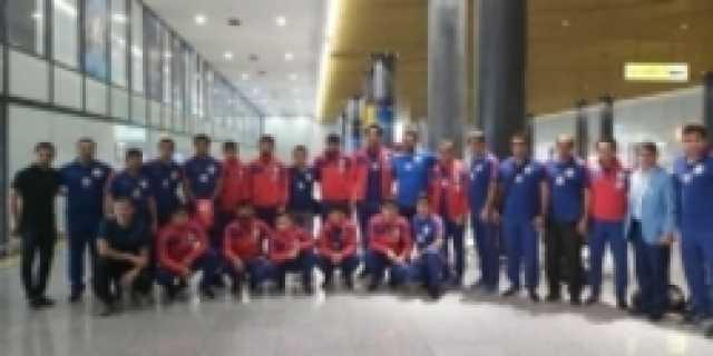 تیم ملی کشتی فرنگی به نورسلطان رسید