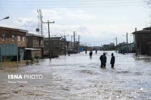 آخرین وضعیت شهرستان سیل زده آققلا از زبان نماینده مردم گرگان