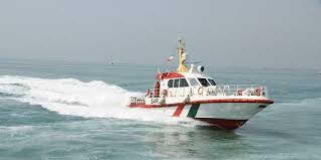 نجات 6 دریانورد از غرق شدن در کیش