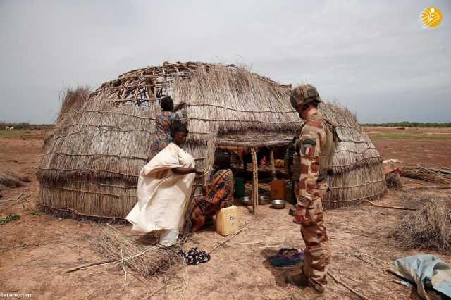 (تصاویر) عملیات دشوار نظامیان فرانسه علیه القاعده در مالی