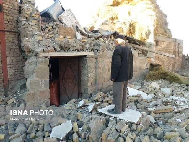 گزارش میدانی ایسنا از وضعیت روستای زلزلهزده ورنکش میانه