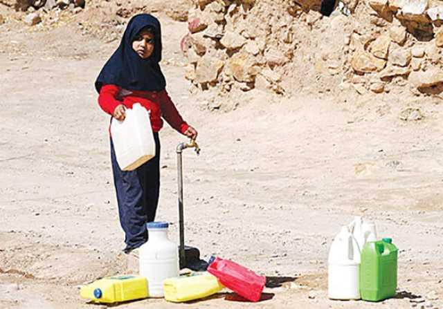 سراب آب برای مردم روستای «سراب» واقعی میشود