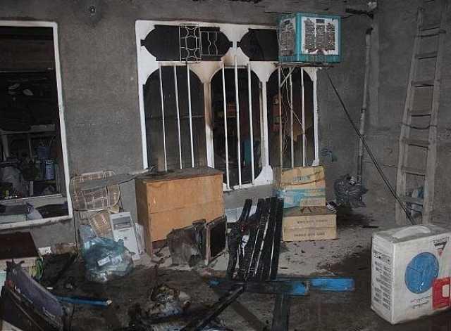 حریق خانه در لارستان ۲ قربانی گرفت