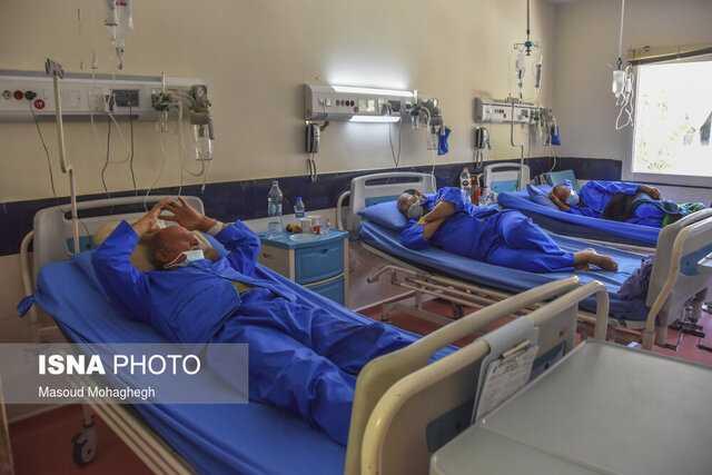 بستری روزانه ۳۰۰ بیمار جدید کرونایی در گیلان