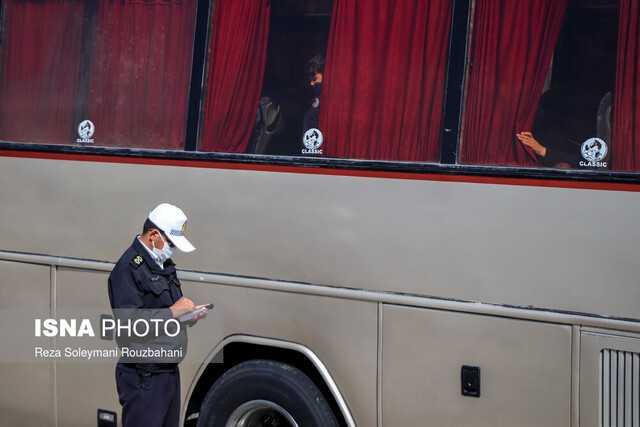 کامیونها و اتوبوسها شامل محدودیت تردد عید فطر خوزستان نیستند