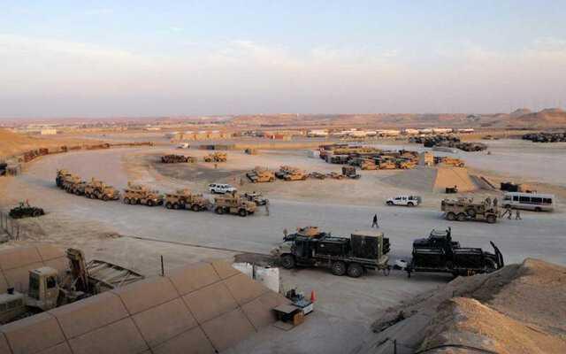 صدای انفجار نزدیک پایگاه عین الاسد ناشی از تمرینات نظامی بوده است