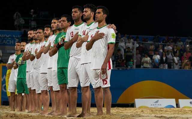 شکست میزبان مقابل ایران در ورزشگاه مملو از تماشاگر
