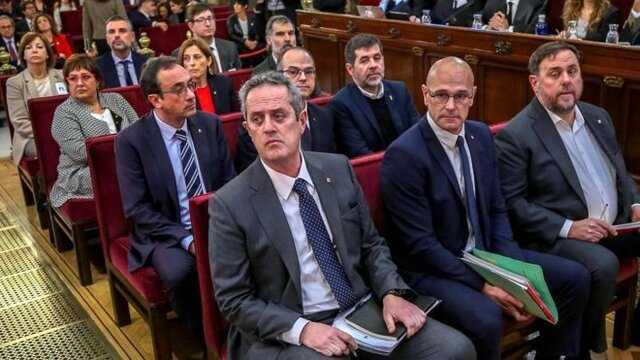 دادگاه اسپانیا حکم دستگیری سه رهبر کاتالونیا را مجددا فعال کرد