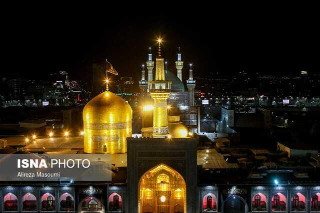 برگزاری مراسم سوگواری امام رئوف در فارس