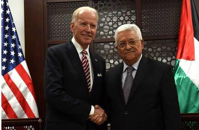 درخواست عباس برای مداخله آمریکا در نخستین گفتگوی تلفنی با بایدن