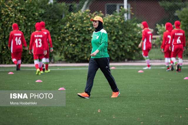 سرمربی تیم ملی فوتبال زنان جوان: بازی اول سخت بود اما برنده شدیم/ راه درازی در پیش داریم