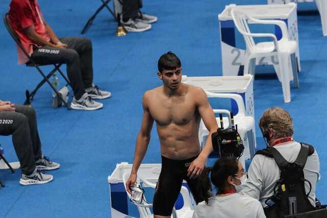 ناگفته های شناگر المپیکی از مشکلات قبل از مسابقه
