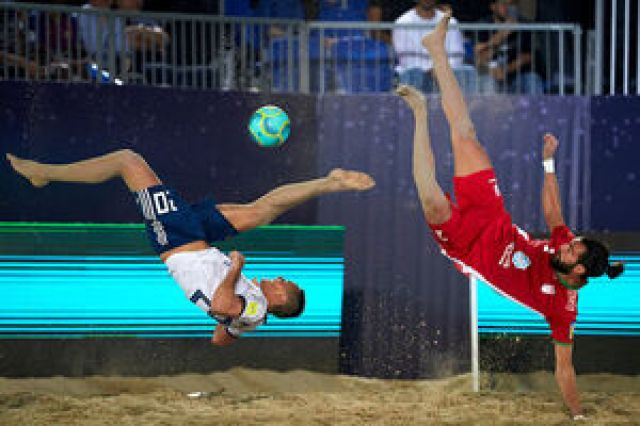 فوتبال ساحلی ایران با شکست میزبان فینالیست شد/ تقابل با اسپانیا برای اولی