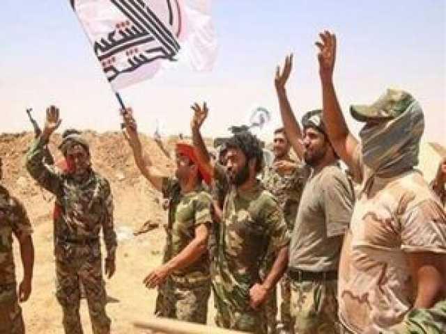 درگیری حشدالشعبی با داعش در شمال عراق