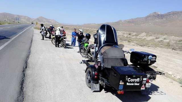 رفع ممنوعیت ورود موتورهای سنگین گردشگران