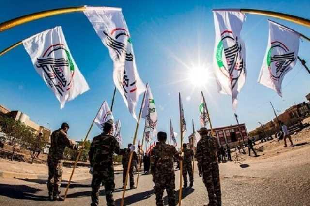 اعلام همبستگی حشد شعبی عراق با ملت فلسطین