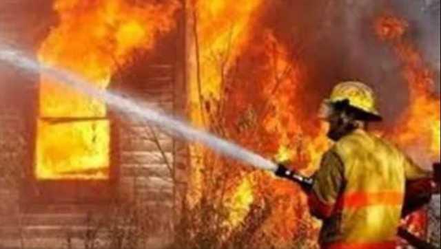 دو آتش سوزی گسترده در نجف اشرف مهار شد