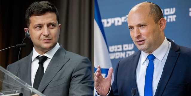 دعوت رئیسجمهور اوکراین از نخستوزیر جدید اسرائیل